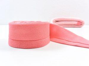 4 cm Cuff für Honeycomb Knit by clarasstoffe soft coral