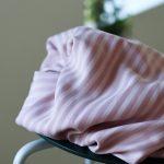 Meet MILK Two- Tone Stripe Twill mit TENCEL™ Fasern puff