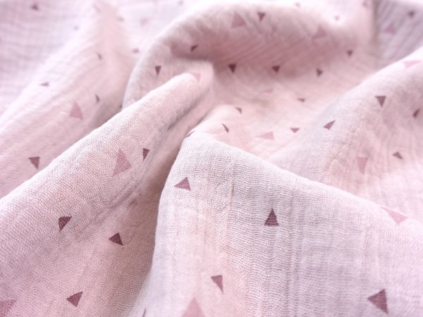 Musselin Triangle blush
