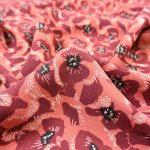Singulière par Cousette | Viskose Coquelicot blossom