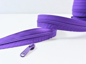 Reißverschluss Meterware lila | ohne Zipper