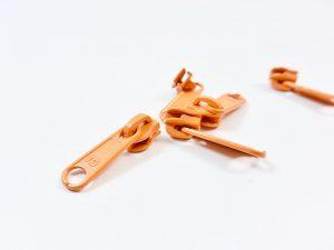 Zipper für Reißverschluss Meterware orange