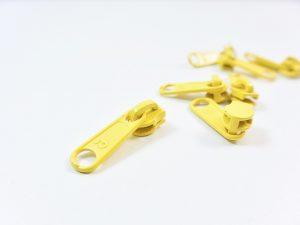 Zipper für Reißverschluss Meterware gelb