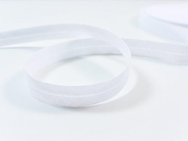Schrägband weiß 2 cm breit