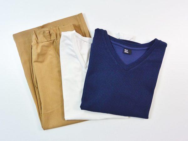 Weekend Wardrobe Bundle Basic | karamell offwhite navy