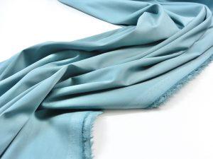 Stretch Popeline aqua | Italienischer Designerstoff