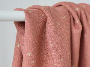 Singulière par Cousette | Viskose Golden Flowers eglantine