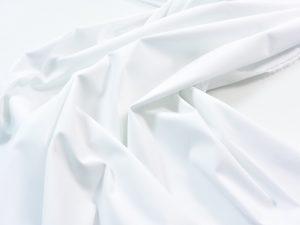 Stretch Popeline weiß | Italienischer Designerstoff
