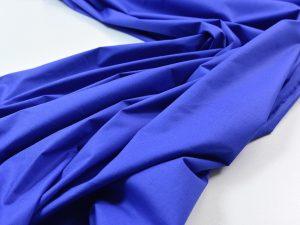 Stretch Popeline kornblumenblau | Italienischer Designerstoff