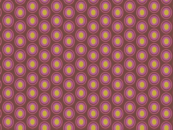 Art Gallery Baumwolle Oval Elements maroon