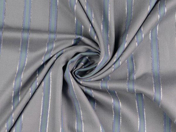 Viskose Sparkle Woven Fashion Stripes | elephant