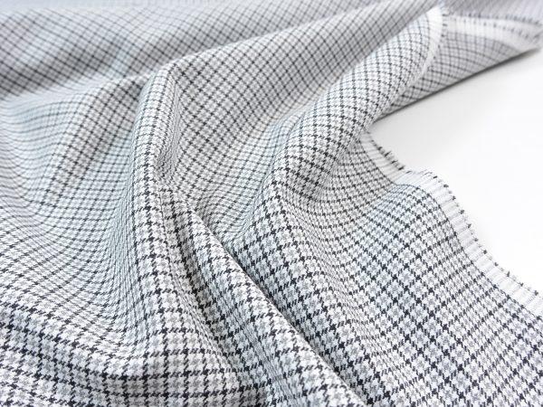 Viskose Stretch Hosenstoff | Fashion Check grey