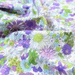 KOKKA Light Poplin Flower Garden lavender