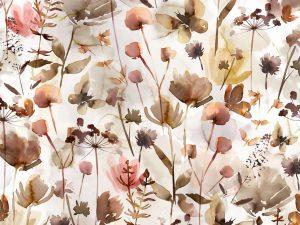Jersey Stoff Wild Flowers