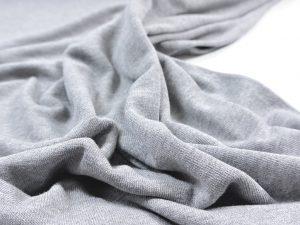 Fibremood | Leichter Viskose Strick grey