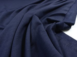 Leichter Viskose Sweat | navy