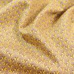 Baumwoll Webware | Three Leaves amber