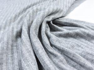Fibremood | Leichter Viskose Rib Knit | grey