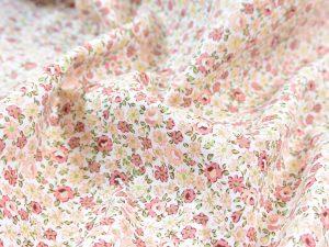 Baumwoll Webware | Milles Fleurs peach