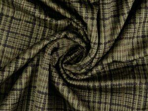 Cord Jacket | Jackenstoff mit Fellabseite | moss