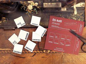 Label Set #mehrEtikette by Prülla & Ännisews | 4. Edition schwarz auf weiß