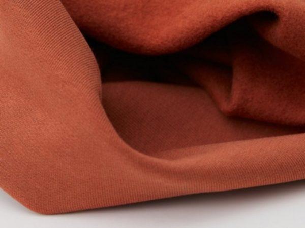 Organic Basic Brushed Sweat | sienna