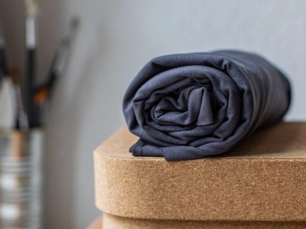 Meet Milk Basic Stretch Jersey mit TENCEL™ Fasern grey | B-Ware