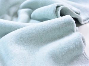 Organic Cotton Baumwollfleece | pale mint