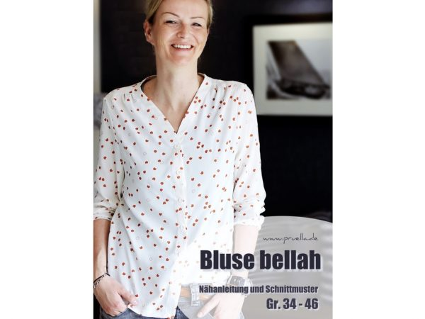 Prülla   Bluse Bellah Papierschnittmuster