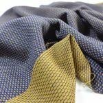 Fashion Woll Stretch Hosenstoff | Small Rectangle mustard