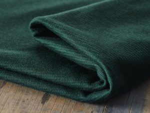 Mind the MAKER | Organic Woolen Ottoman bottle green