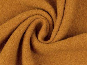 Wollwalk aus 100% Schurwolle | karamell