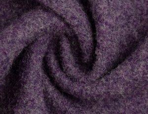 Wollwalk aus 100% Schurwolle | pflaume meliert