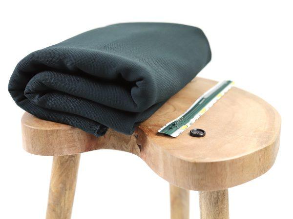 DIY Kit Hose Alessia | Woll Stretch deep green