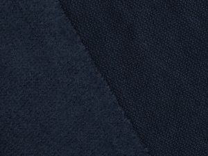 Organic Woolen Fleece Sweat indigo night