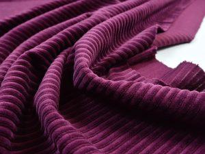 Soft Rib Jersey grape