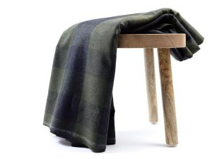 Shacket Fabric | Big Check khaki