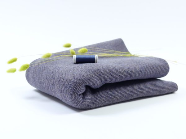 DIY Kit Sweater Megan | Merino Knit blue
