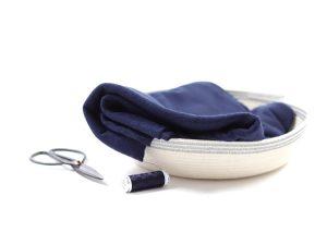 DIY Kit Shirt Greta | Leichter Viskose Strick indigo