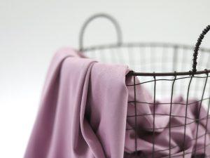DIY Kit Hose Nessa   Faux Velvet Leather violet