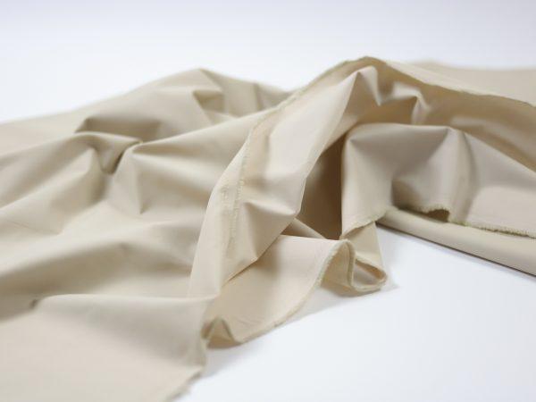 Fashion Trench Coat Gabardine   light beige matte