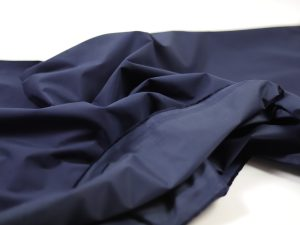 Fashion Trench Coat Gabardine | navy matte