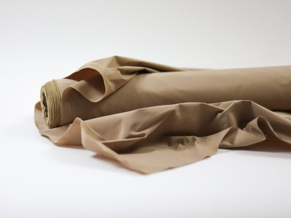 Light Trench Coat Gabardine | macchiato silk