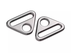 O-Ring mit Steg gunmetal | 30 mm | 2 Stück
