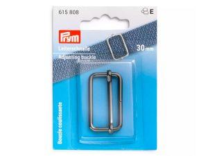 Leiterschnalle gunmetal | 30 mm | 1 Stück