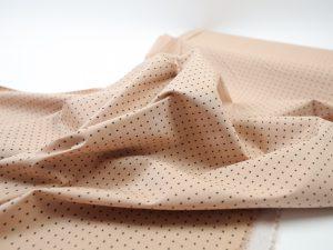 Fibremood Suri Top| Stretch Popeline Mini Stars nude