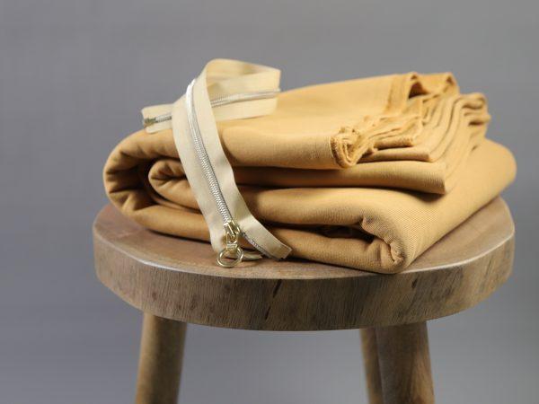 DIY Kit Troyer Dina | Brushed Sweat dry mustard