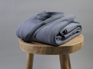 DIY Kit Troyer Dina | Fleece Sweat calm grey