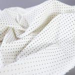 Fibremood Suri, Danna & Rupert | Stretch Popeline Mini Stars white