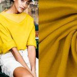 Fibremood Mabel, Robin, Joy & Vera | Brushed Sweat mustard